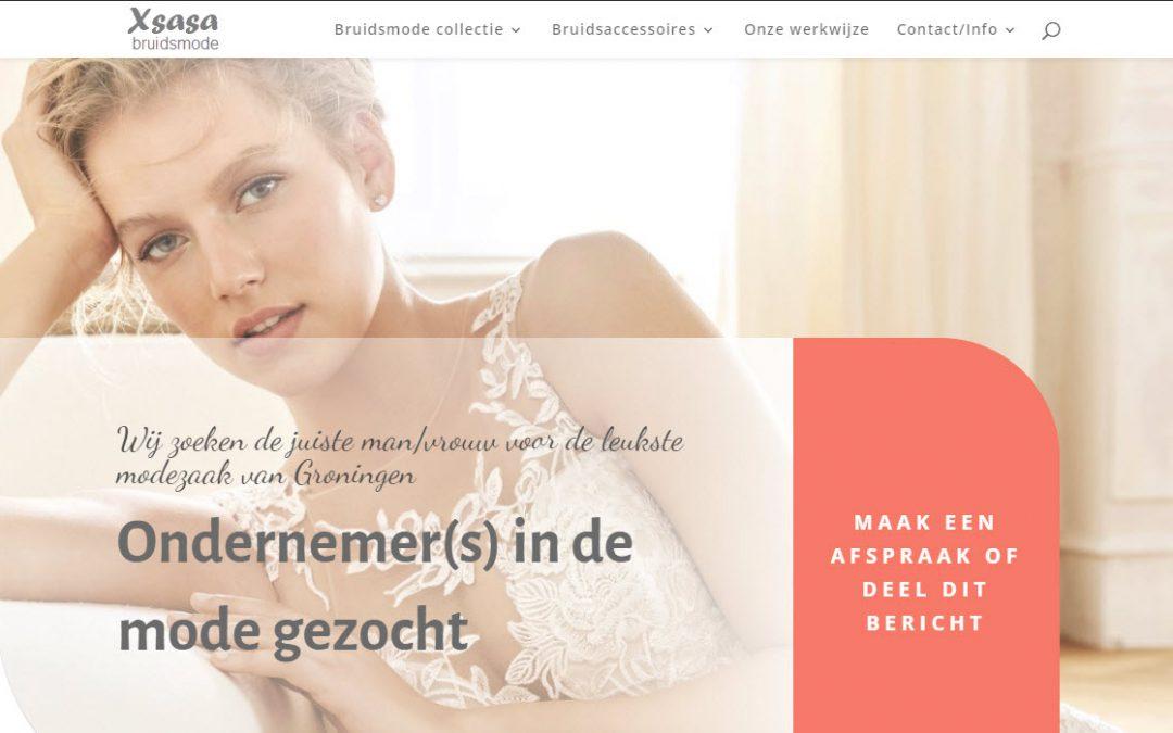 Xsasa zoekt enthousiaste ondernemers in de mode